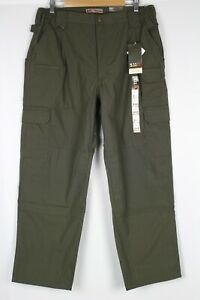 5.11 Tactical Mens Taclite Pro Ripstop Cargo Pant 38 x 30 Tundra 192 Green 74273