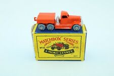 Matchbox Lesney No 15a Diamond T Prime Mover - Made In England - Boxed