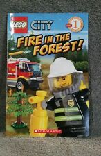 Lego City: Fire in the Forest! by Samantha Brooke and Inc. Staff Scholastic (20…