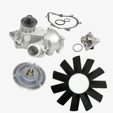 Water Pump Fan Clutch Thermostat Fan Blade Kit BMW E38 E39 540i 740i 740iL (4pc)