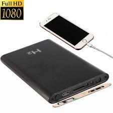 HD 1080P IR Night Vision+Spy Camera+Mobile Power Bank 5000mAh Camera USB Pen DVR