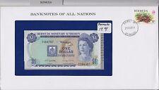 Banknotes of All Nations - Bermuda $1 Dollar 1982 UNC. P28b - Prefix A/6