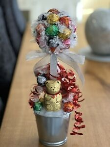 Lindt Lindor Mix Choc Sweet Tree With Lindt Choc Teddy. Great Gift!
