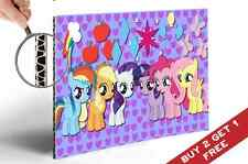 MY LITTLE PONY ALL CHARACTERS WITH SYMBOLS A4 POSTER FOR KIDS CHILDREN ROOM GIFT