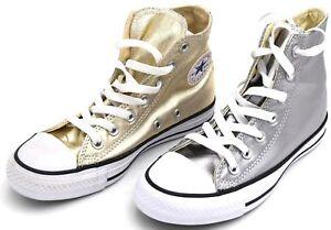 Scarpe da ginnastica di oro Chuck Taylor All Star per donna ...
