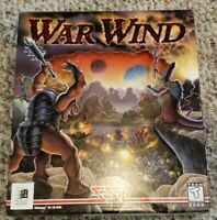 Rare Vintage - War Wind PC Big Box Collectors Video Game Complete CIB