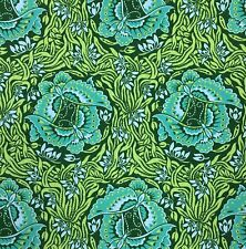 By 1/2 Yard ~ Amy Butler Cotton Fabric ~ Violette Take Flight in Jade ~ Floral