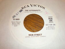 The Astronauts 45 Main Street RCA VICTOR PROMO