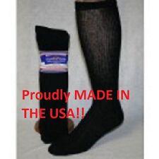 9 Pair of Black Over The Calf Diabetic Socks Size 10-13 Over Calf Diabetic Socks