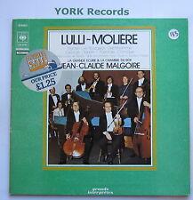 76184 - LULLI-MOLIERE - Psyche etc JEAN-CLAUDE MALGOIRE - Ex Con LP Record