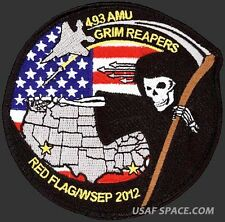 USAF 493rd AIRCRAFT MAINTENANCE UNIT- RED FLAG 2012-4 & WSEP 2012-ORIGINAL PATCH