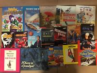 Lot of 20 Kids BOOKS FOR BOYS Learn to Read Picture Children Library RANDOM MIX