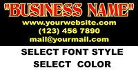 "CUSTOM VINYL LETTERING Personalized Business Name Logo Sticker Decal 40""-15"""