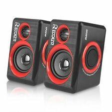 GamingSpeakers 6x9 PCSurround Sound System Loud Deep Bass USB Desktop Comput