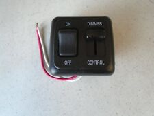 JR Products Dimmer On/Off Switch Black P/N 12275