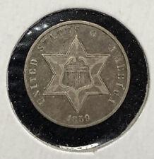 1859 Three Cent Silver Type III XF+ Pleasing Well Struck ORIGINAL Example Mr. C