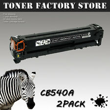 2PK 125A CB540A Toner For HP Color LaserJet CM1312 CP1215 CP1515n CP1518ni