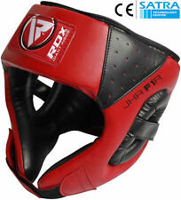RDX Kids Junior Headgear Helmet Boxing MMA Heag Guard Martial Arts Boys Kick