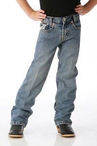Cinch Boy's & Toddler's Light & Dark White Label Jeans MB128
