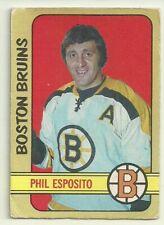 1972 72-73 OPC O-PEE-CHEE BRUINS PHIL ESPOSITO #111 FAIR CONDITION CLEAN BACK