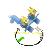424320P GENUINE FISHER & PAYKEL WASHING MACHINE DUAL SOLENOID INLET VALVE