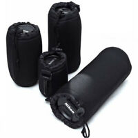 UK Neoprene DSLR Camera Soft Lens Carry Case Bag Pouch Waterproof - S M L XL
