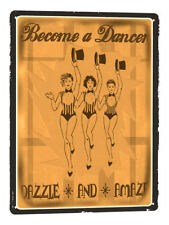 Dancing with the stars METAL SIGN great gift vintage style wall decore art 700