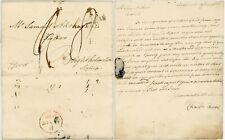 More details for 1802 letter fareham mileage charles adams to samuel akers baker ..apprentice son
