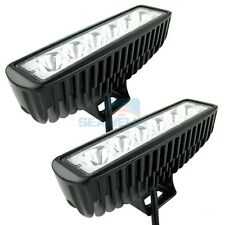 2pcs 18W LED Light Bar Spot Work Lamp Marine Boat Car Truck SUV ATV Work Light