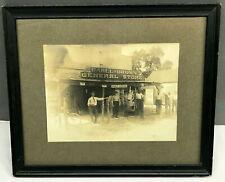 c.1860 Albumen Photo CARLL & BROWN GENERAL STORE Salem County NJ  Antique Framed