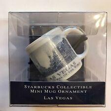 Starbucks Las Vegas Architectural Series Collectable 2oz Mini Mug Cup 2007 - NEW