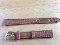 NEW SPEIDEL WATCH BAND BRACELET - Genuine Pigskin 430R 12mm Honey Light Brown