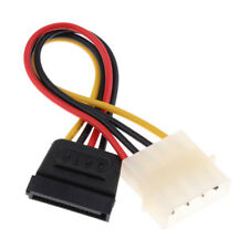 SATA 15Pin Female to LP4 4Pin Male 16cm Adapter Power Cable Line Wire