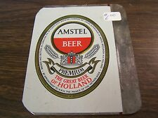 VINTAGE - AMSTEL BEER - 10 OUNCE (Peurto Rico)- CAN FLAT - PRINTERS PROOF