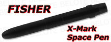 Fisher Matte Black X-Mark Bullet Space Pen SM400BWCBCL