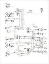 mid-1975 GMC Chevy 9000-9500 Conventional Wiring Diagram 8V-71 Diesel 90 95
