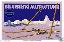 Bilgeri Ski Equipment Bregenz Austria Fine Art Print / Poster