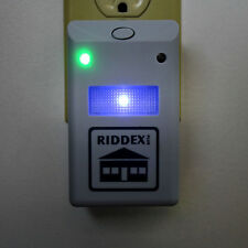 US Plug 3 Riddex Plus Pest Repeller Ultrasonic Aid Rodents Roaches Ants On TV BS