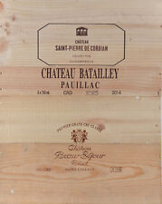 1 LOT N° 010 ESTAMPES façade caisse en bois pour cave à vin WWW.I-FRANCEWINE.FR