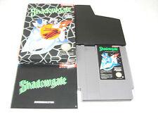 Shadowgate NES Spiel komplett mit OVP und Anleitung