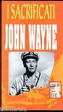 I SACRIFICATI (1945) VHS Legocart - John Ford John Wayne Donna Reed