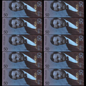 10per US 50 Dollors Banknote Collectible Paper Money Art Craft Holiday Gift