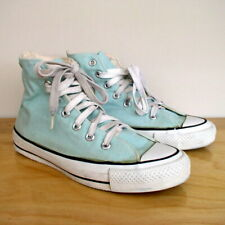 fe4873cd7d6 Vintage Converse Chuck Taylor All Star Hi Top Sneaker Mint Green Made in  the USA