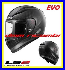 New 2018 Casco Integrale fibra LS2 FF323 ARROW C EVO SOLID Carbonio Nero Tg.L