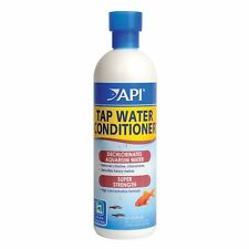API Tap Water Conditioner Safe for all aquarium life Works instant (Size:16 oz)