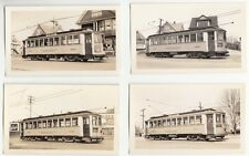 1937 Photos of Trolley Cars (Connecticut Railway & Lighting Co. in Bridgeport)