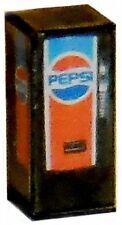 HO Scale LIGHTED Old Style Pepsi Vending Machine 1/87 Illuminated