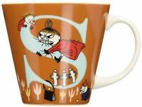 Moomin Valley Porcelain Initial Mug Cup 'S' Yamaka Japan