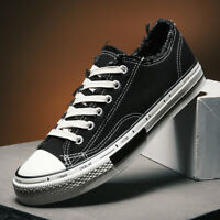 Men's Canvas Shoes Outdoor Casual Sneakers Fashion Breathable Walking Ins Shoes