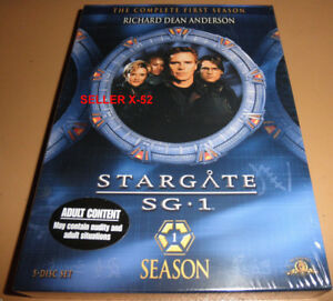 STARGATE SG1 sg-1 SEASON 1 DVD set RICHARD DEAN ANDERSON thor's hammer broca